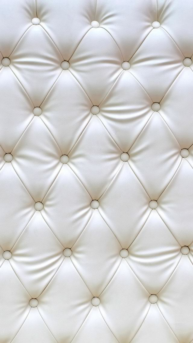 Iphone Wallpaper 5s White Cushion Leather Elegant Plain Simple