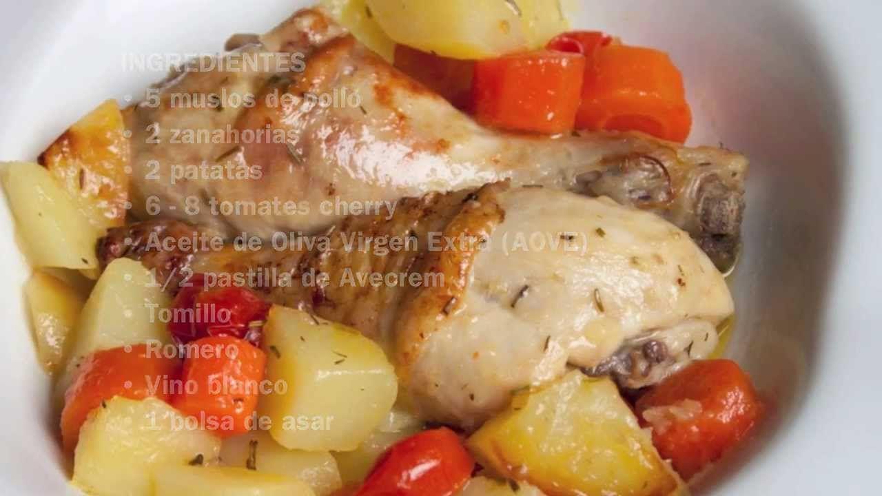 Muslos De Pollo En Bolsa De Asar Como Cocinar Pollo Muslos De Pollo Cocina Saludable