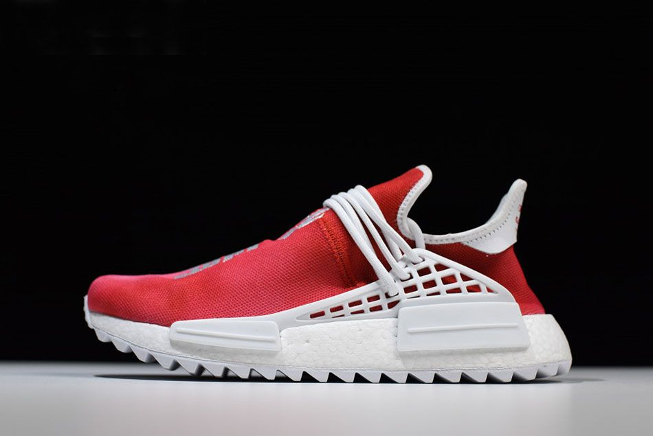 adidas Originals by Pharrell Williams Hu Holi NMD MC China Edition Passion  Red F99671 ec58b2ce2