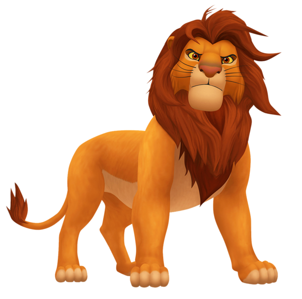 King Lion And Png Image Lion Pictures Disney Characters Pictures Cartoon Cat