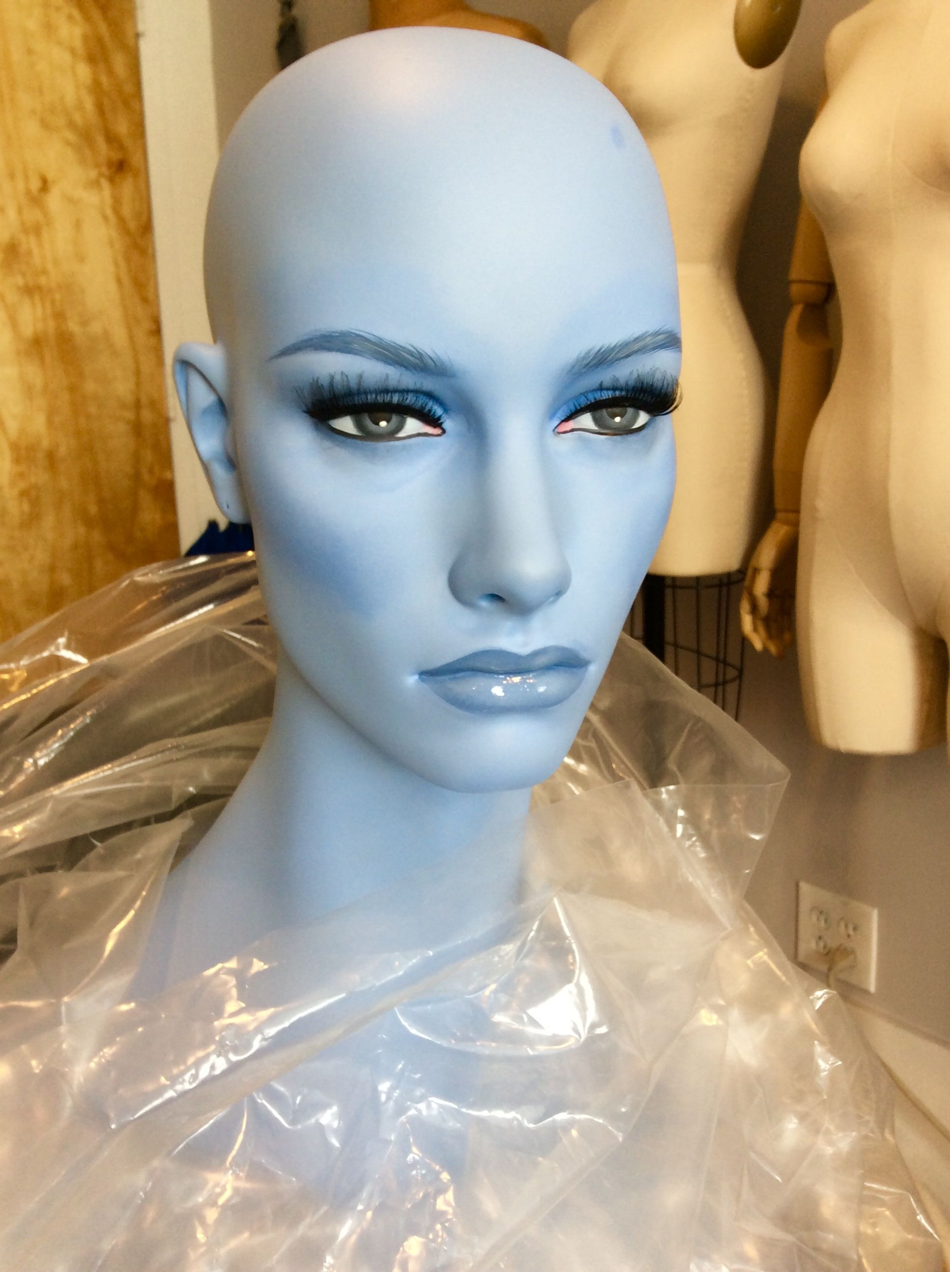 Pin by Stephen R. Russomano on Mannequin makeup done on