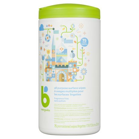 Babyganics All Purpose Wipes 75 Count How To Know Fragrance