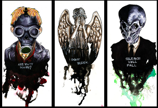 fear them Doctor who tattoos, Doctor who art, Doctor who