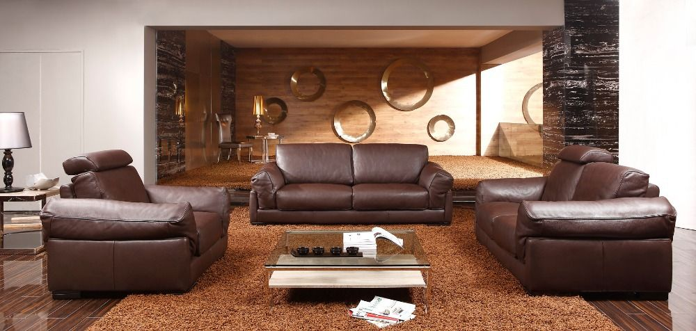 Find More Living Room Sofas Information About 8256 Living Room Leather Sofas Feather Sosfa Set Luxury Leather Sofas 1 2 3 High Q Leather Sofa Leather Sofa Set Living Room Sofa