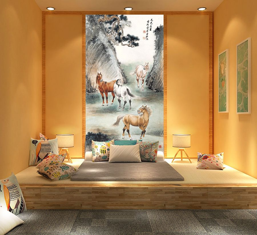 Chambre à coucher couleur \