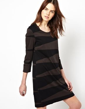 The Furies Dress With 3/4 Sleeves