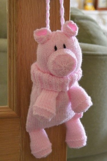 Pig Knitting Pattern Toys And Dolls To Make Pinterest