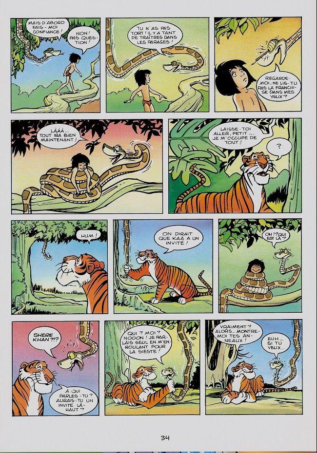 Disney La Bd Du Film 11 Le Livre De La Jungle