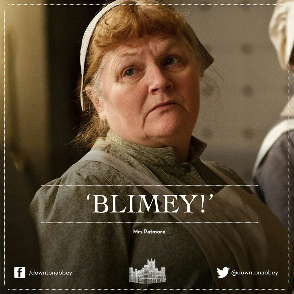 Mrs. Patmore quote   Downton abbey, Watch downton abbey ...