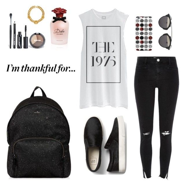 """""""Sem título #157"""" by duda7-1 ❤ liked on Polyvore featuring River Island, Christian Dior, Hogan, Avenue, Versace and Dolce&Gabbana"""