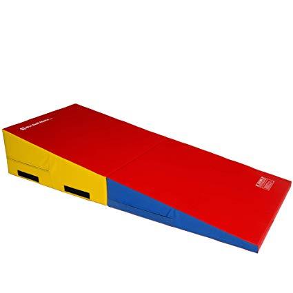 Amazon Com We Sell Mats Gymnastics Folding And Non Folding Incline Cheese Wedge Skill Shape Tumbling Mat Sports Outdoors Tumble Mats Gymnastics Mats