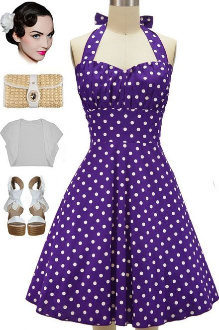 798b525bb01 New in store at Le Bomb Shop! The Betty Sun Dress in Grape Soda!