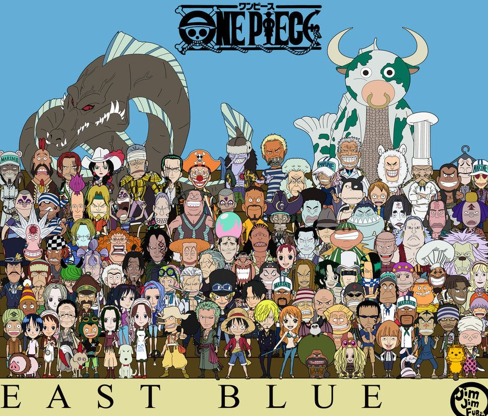 East Blue By Jimjimfuria1 Deviantart Com On Deviantart Anime