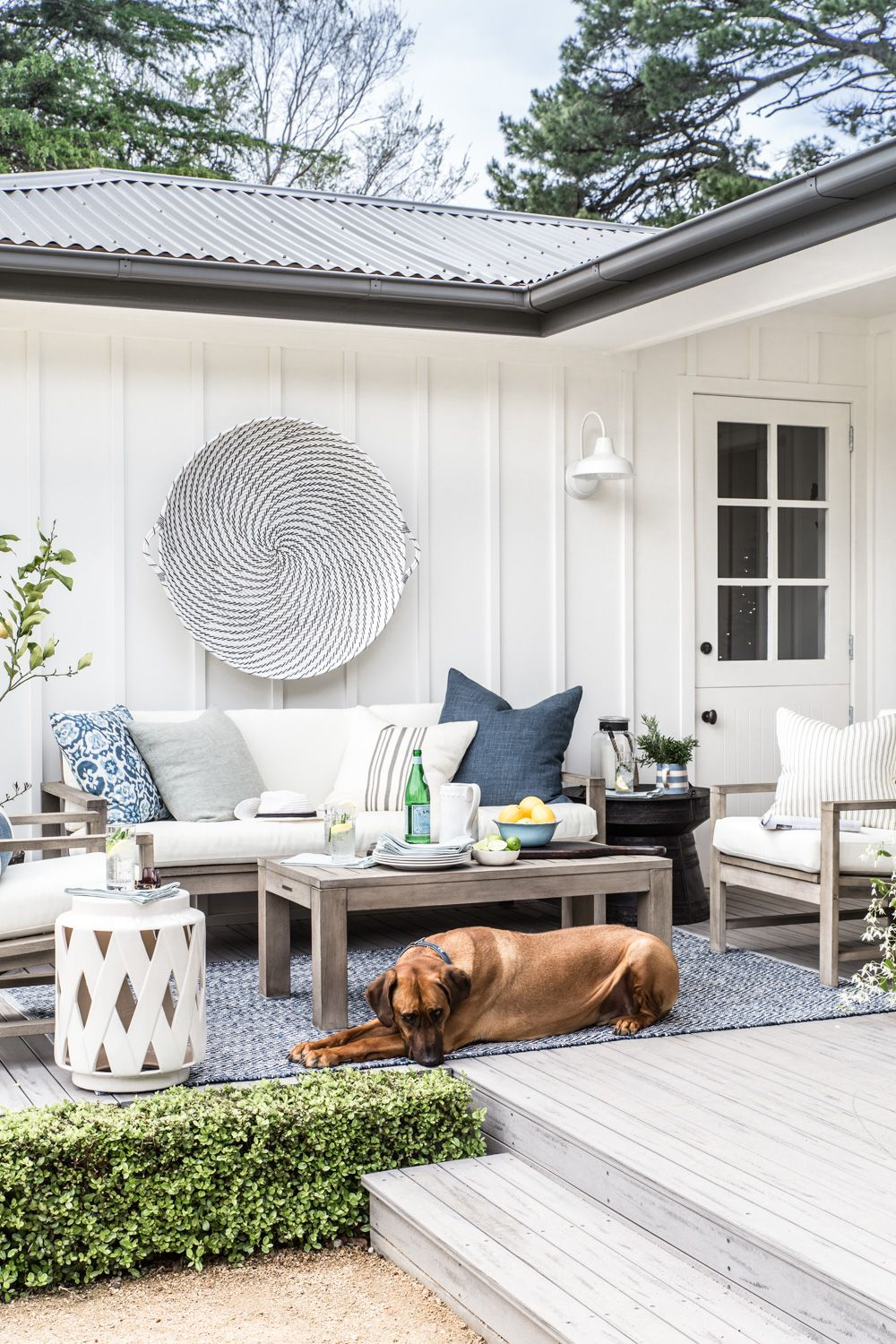 Our Outdoor Makeover With Pottery Barn Cottonwood Co Outdoor Makeover Outdoor Living Rooms Outdoor Living