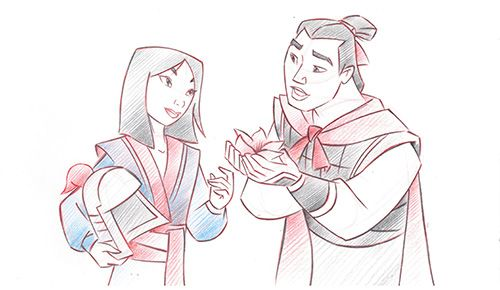 Year of Romance: Mulan and Shang   Disney   Pinterest