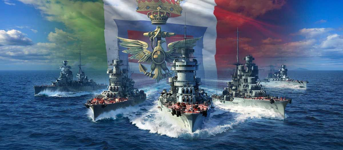 Italian Navy Tech Tree Review World Of Warships Guides Wows Warship Heavy Cruiser Naval World of warships wallpaper 1920x1080