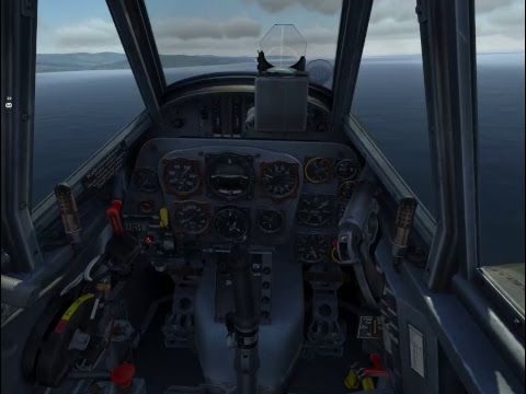 Lets Fly DCS ww2 bf109 vs spifire & p51 | WARBIRDS