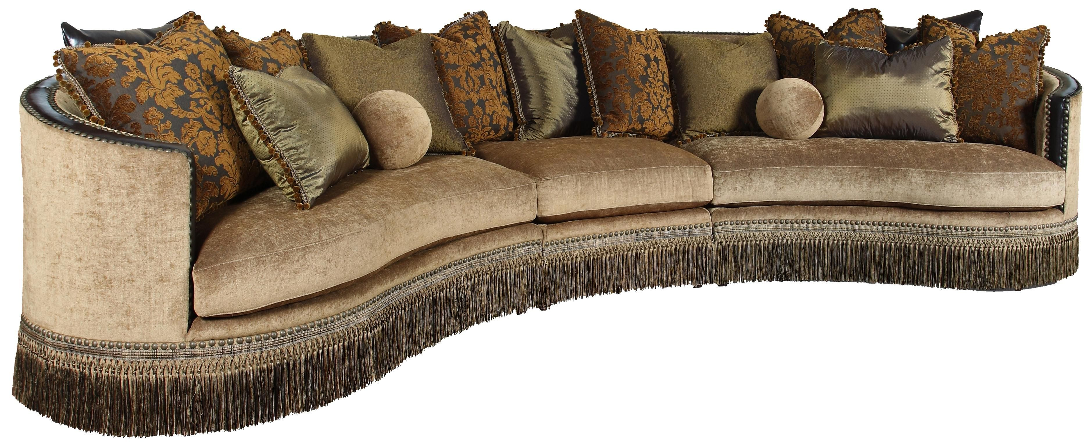 Whitney 3 Piece Sectional Sofa by Rachlin Classics