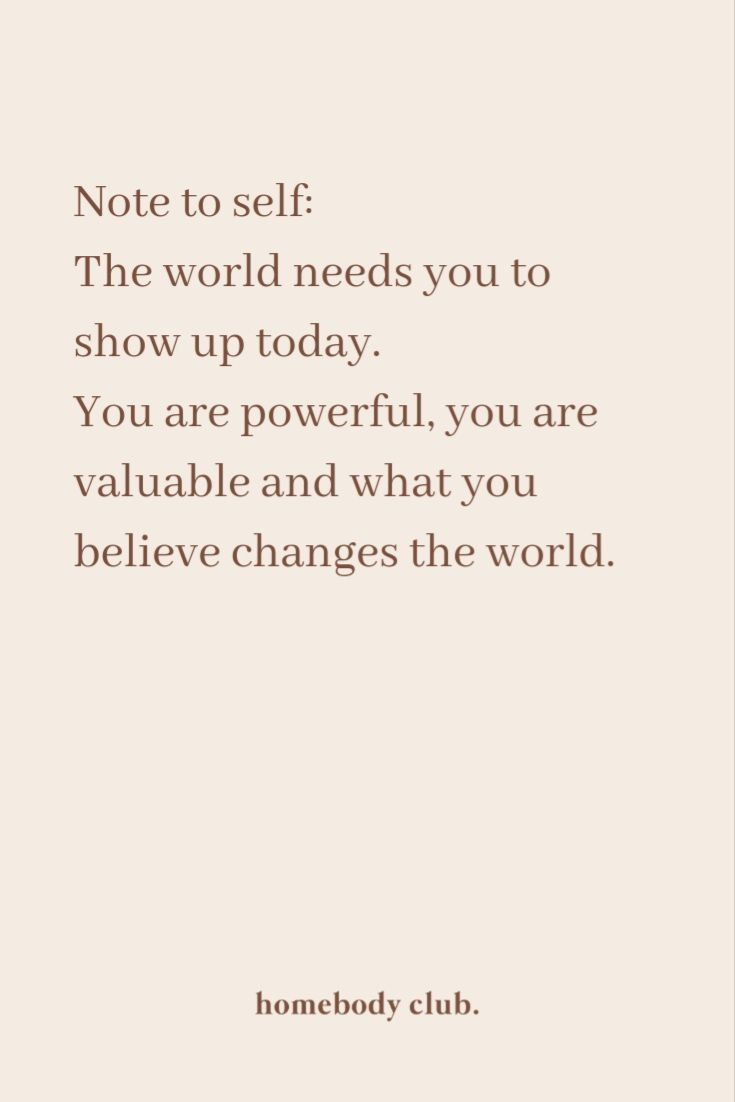 ... show up today