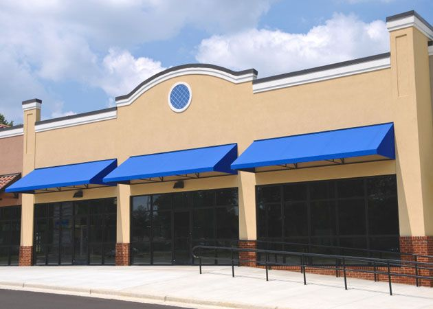 "exterior awnings commercial projects d2 flexa""¢ canopy awning"
