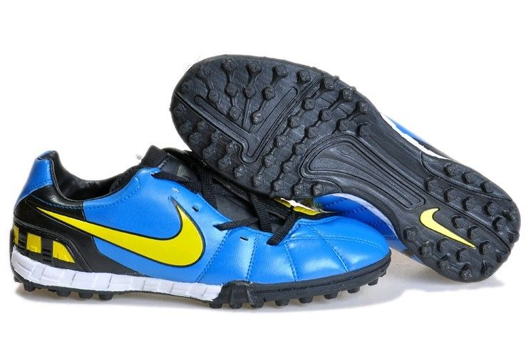 sale retailer a297c 95858 Nike Total 90 Shoot IV TF Mens Astro Turf Soccer Shoes(Soar Tour Yellow  Windchill)