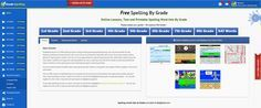 FREE SPELLING PROGRAM FOR GRADES 1-8 ~ If you are needing something to use to help your children with their spelling, this just might work for you! GradeSpelling.com has online lessons, tests, and printable spelling word lists for Grade 1 through 8, PLUS a section with SAT words…and it is all FREE!
