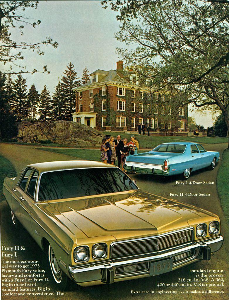 1973 Plymouth Fury I and Fury II | Classic American Cars ...