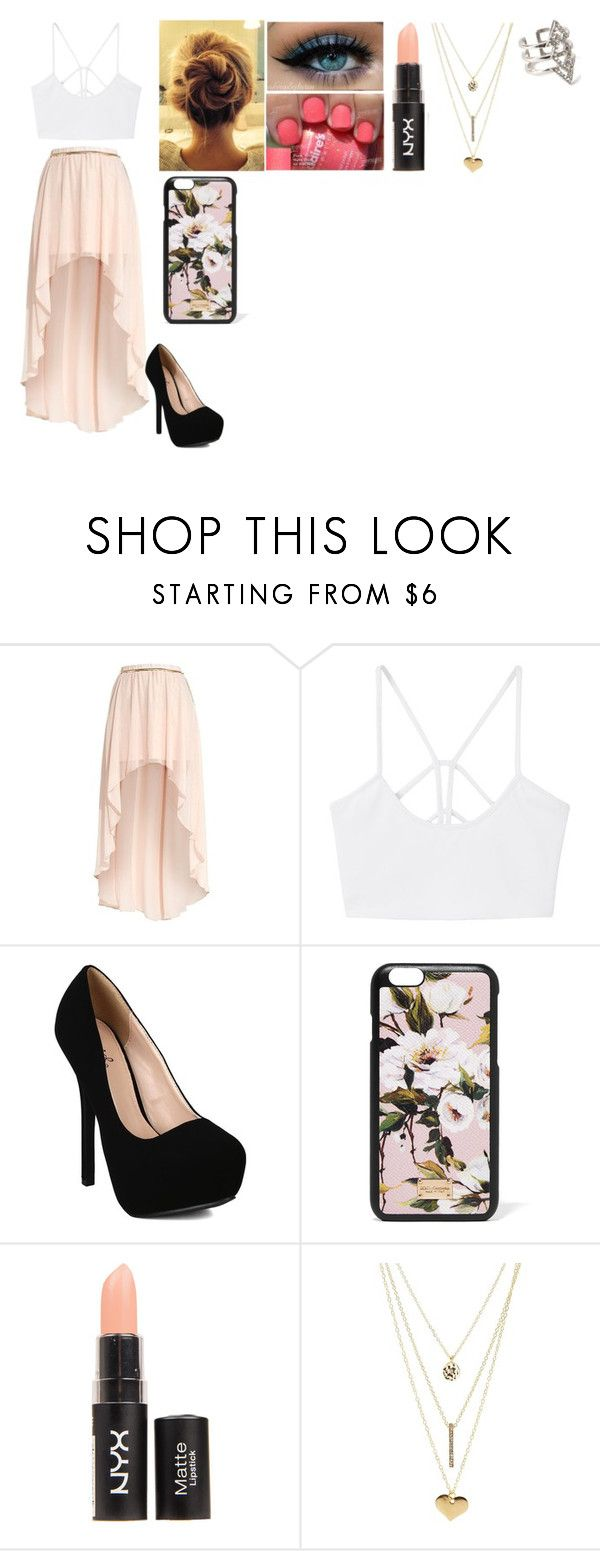 """Simply Beautiful"" by luana-hemmings ❤ liked on Polyvore featuring MANGO, Qupid, Dolce&Gabbana, Charlotte Russe and Forever 21"