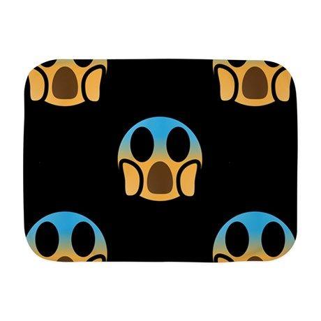 scream emoji Baby Blanket on CafePress.com   Soft baby ...