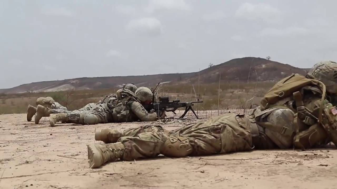 U S Army Infantrymen Assigned To 1st Battalion 30th Infantry Regiment 2nd Inf Brigade Combat Team 3rd Inf Division Conduct A P Platoon Infantry Battalion