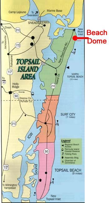 North Topsail Beach Nc Map North Topsail Beach Nc 28460 You Can