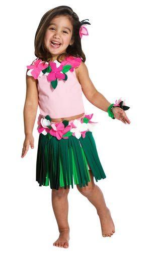 3a54970c1 Toddler Hula Girl Costume | tropical kids costume | summer kids costume | Hula  outfit
