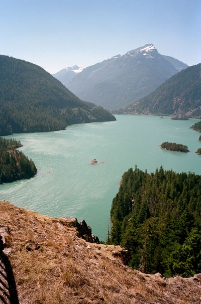 katieshapiro:  another view of the Cascades