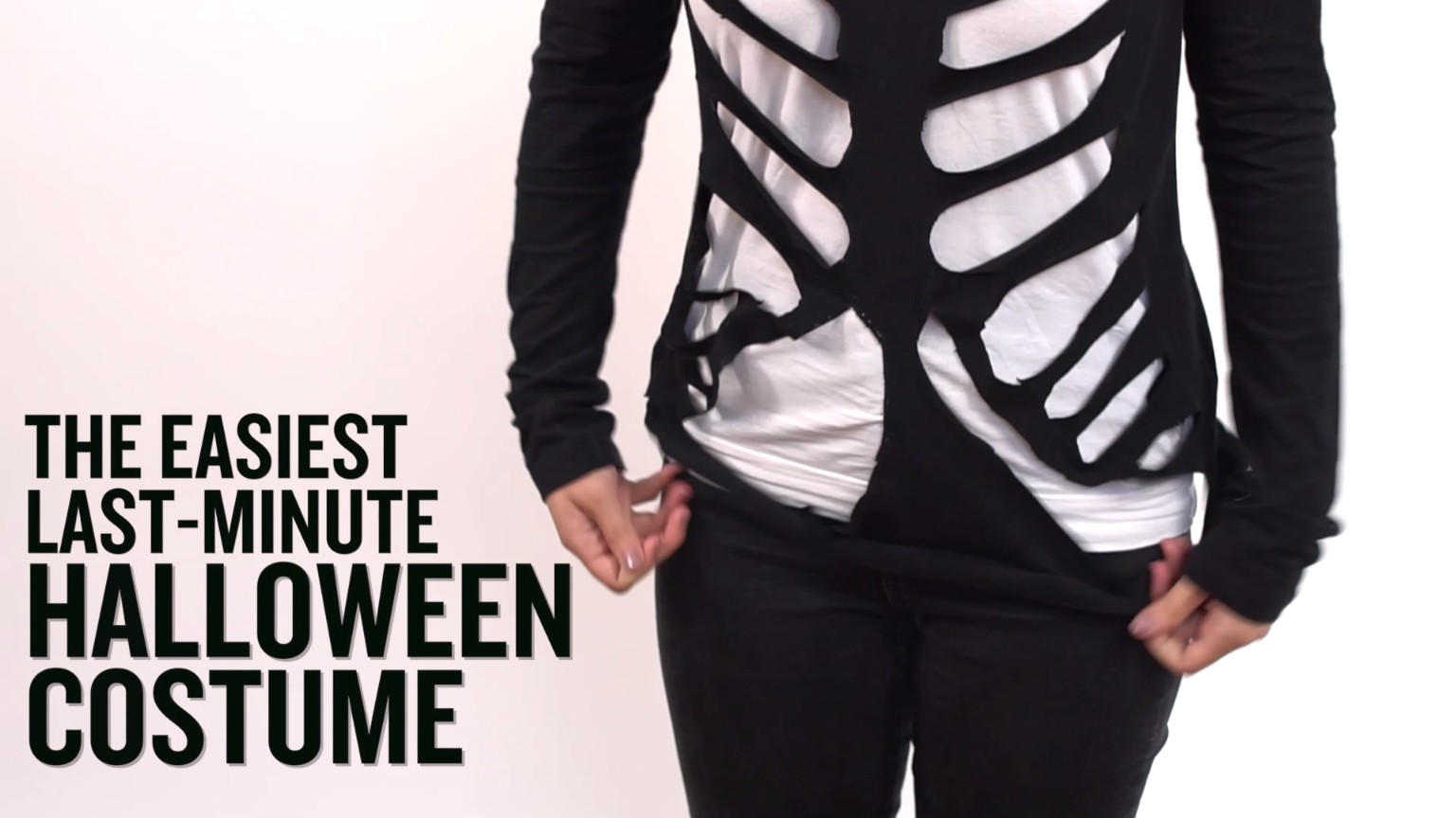 the easiest last minute halloween costume ever pinterest. Black Bedroom Furniture Sets. Home Design Ideas