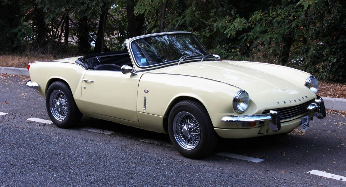 Triumph Spitfire Mk3 1967 Exact As After Restoration Complete With Knock On Wire Wheels Exciting To Say The Leas Triumph Cars Triumph Spitfire Triumph Motor