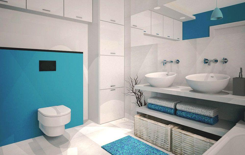 Turkusowe Akcesoria Do łazienki Home Bathroom Bathroom