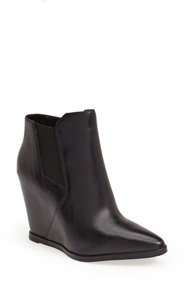 a8159a567ac Kenneth Cole New York  Sloane  Leather Wedge Bootie (Women) available at   Nordstrom