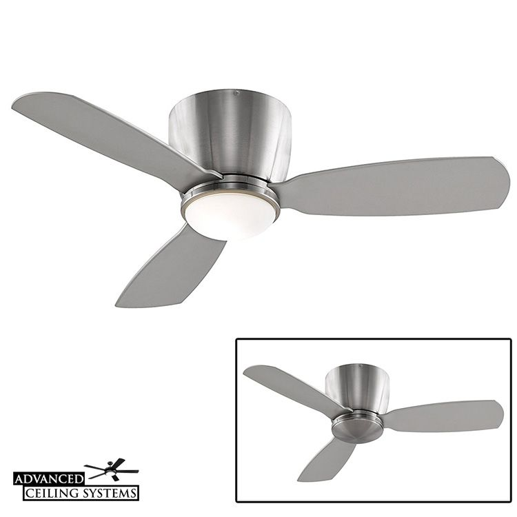Fanimation Embrace Best Ceiling Fan For Small Rooms And Low Ceilings Modern Home Decor