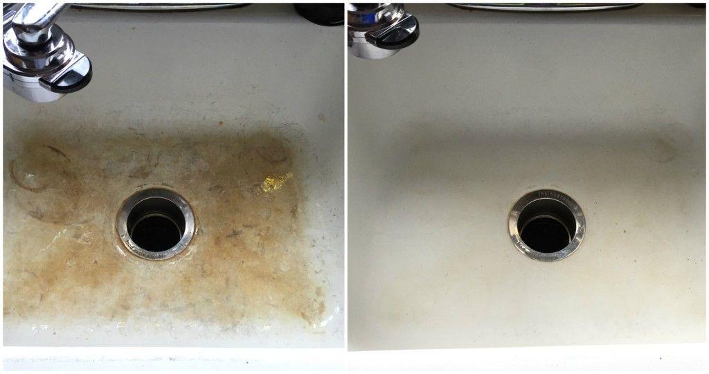 Secret To Making Your Porcelain Sinks Shine Again Porcelain Sinks Clean Porcelain Sink Sink