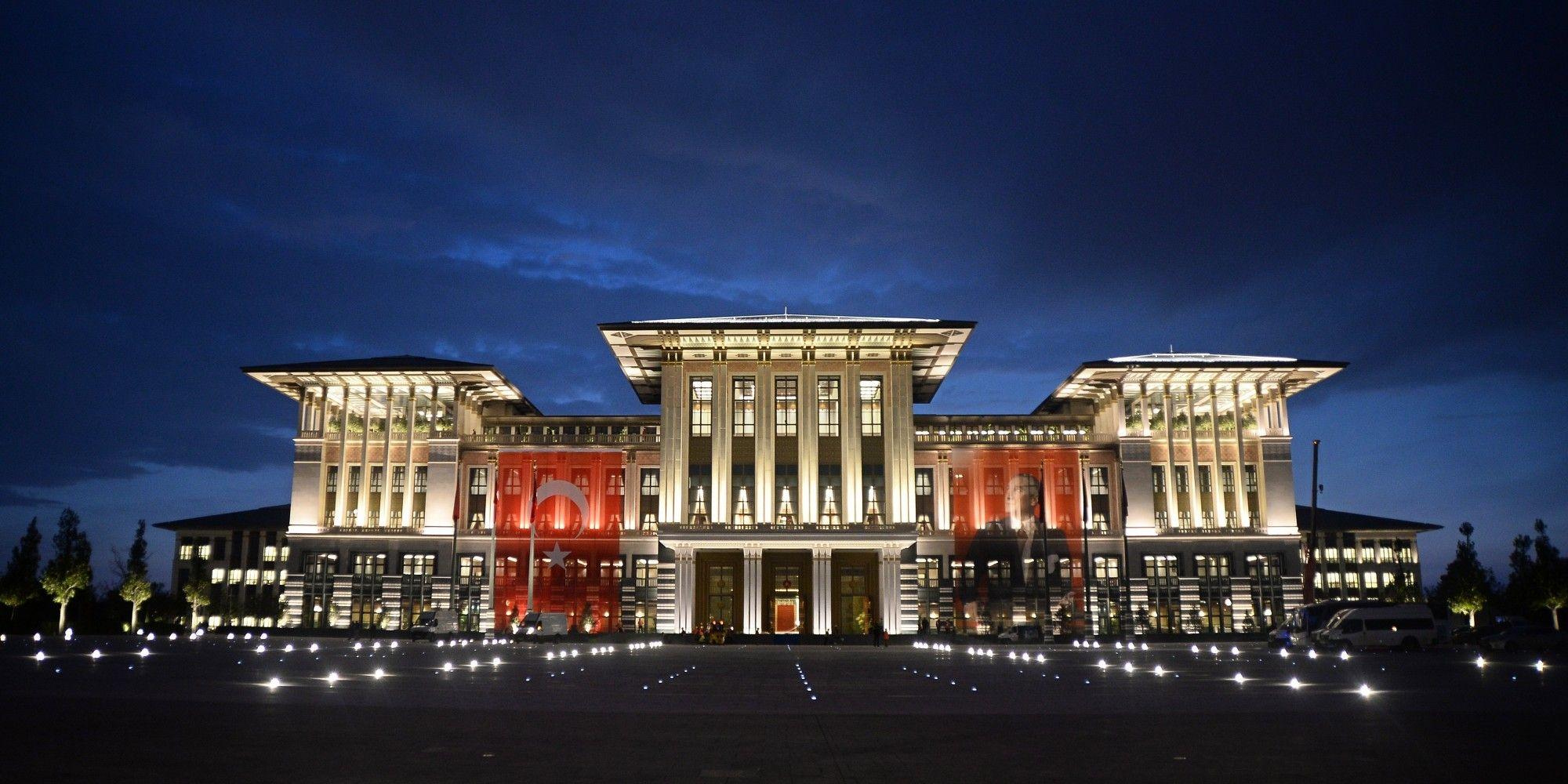 TURKEY-PRESIDENTAL PALACE