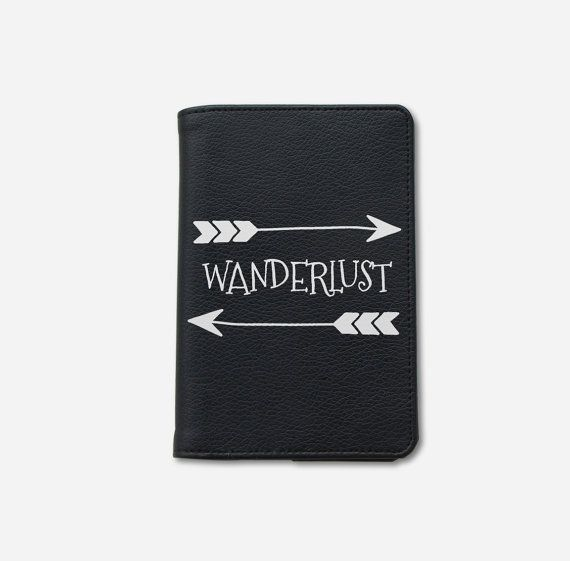 c581cdb234fb Wanderlust passport holder passport cover vegan leather passport ...