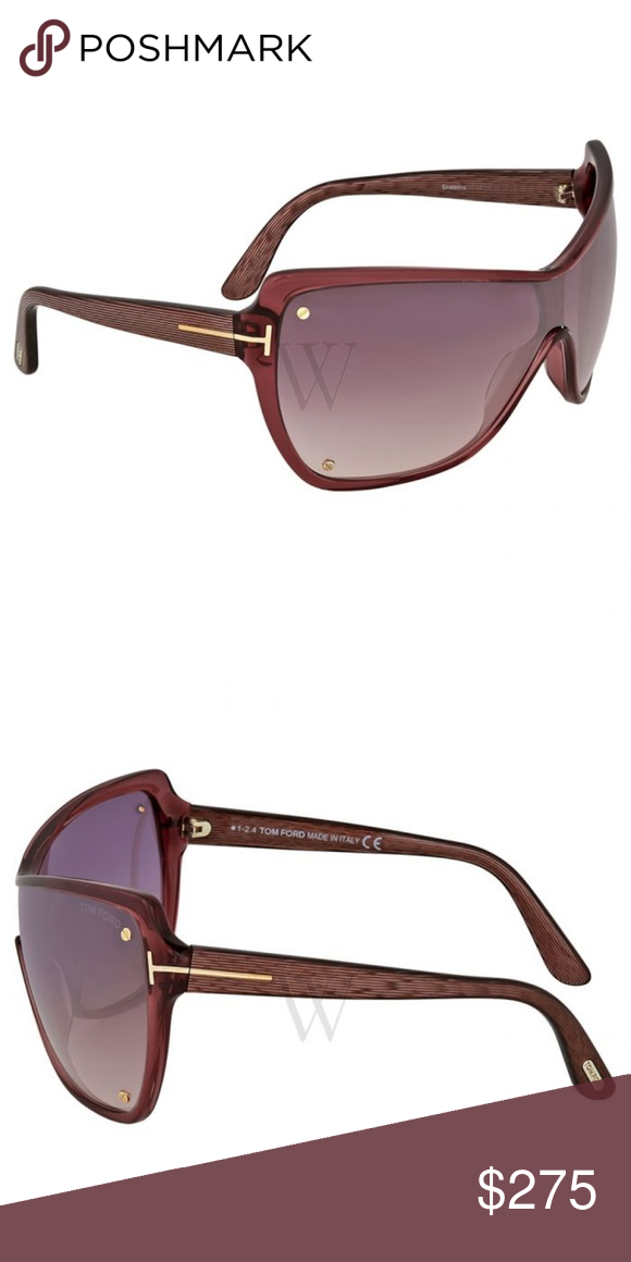 cc9ebf282eb NWT Tom Ford Ekaterina Purple Gradient Sunglasses Brand new with tag Tom  Ford Sunglasses. Series