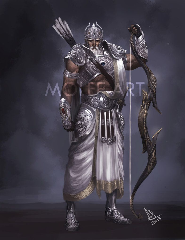 Bhishma By Molee On Deviantart Hindu Gods God Art Hindu