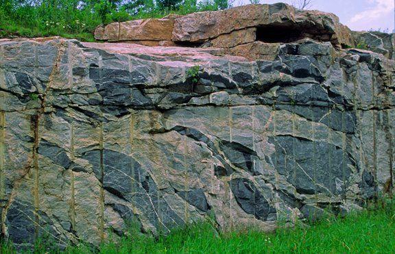 Amphibolite schist