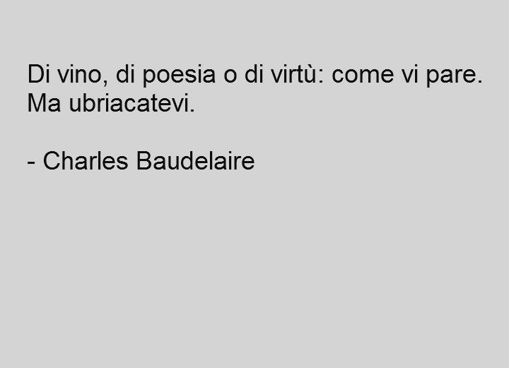Exceptionnel Di vino..di poesia o di virtù. ..come volete ma ubricatevi sempre  LK75