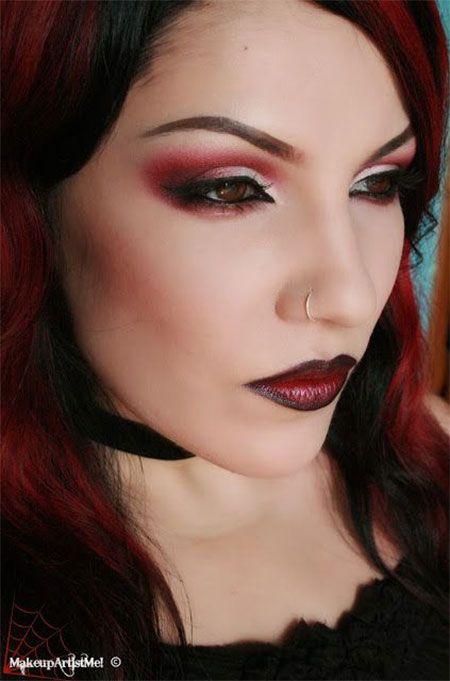 Halloween Makeup Devil Girl.Makeup Ideas For Female Devil Saubhaya Makeup