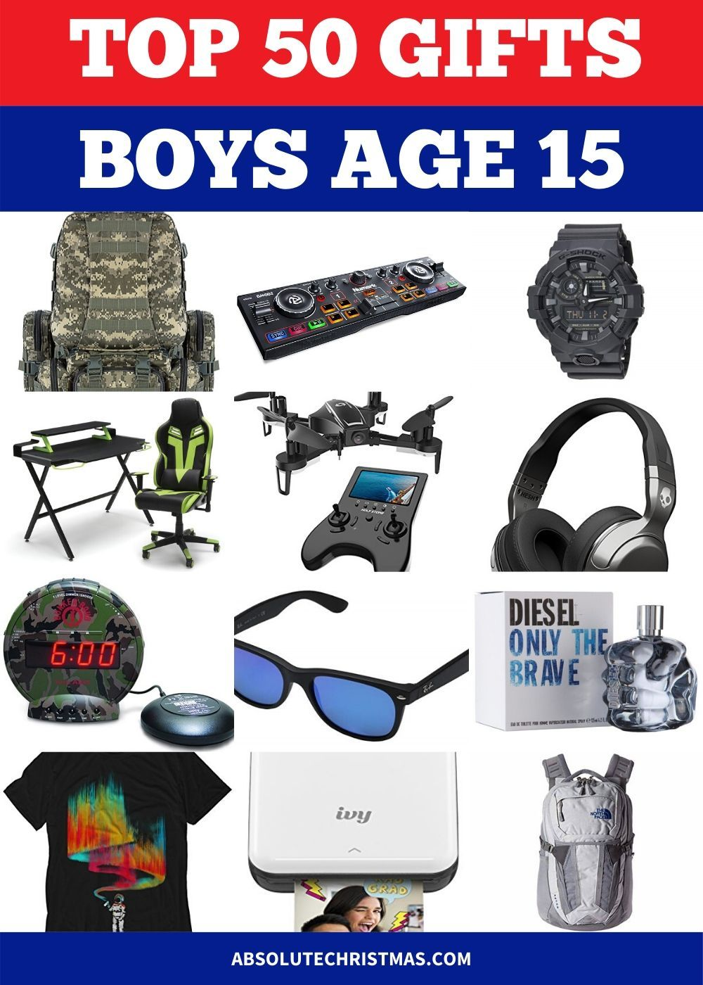 101 Best Gifts For 15 Year Old Boys 2020 15 Year Old Boy 15 Year Old Christmas Gifts Christmas Gifts For Boys
