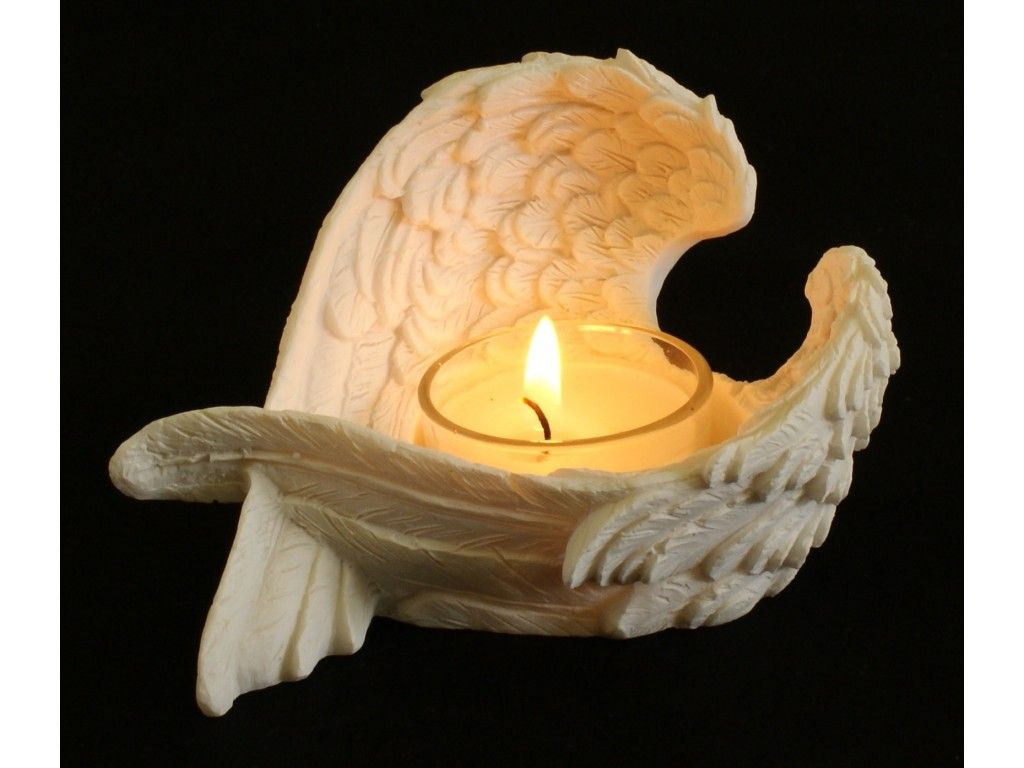 Angel Wings Candle Holder | In Memory of Baby Connor...Forever My ...