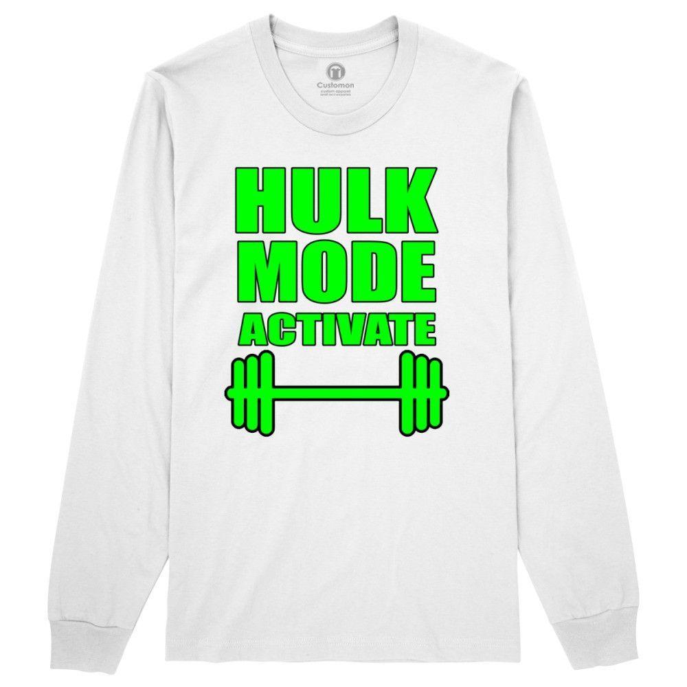 Hulk Mode Activate Long Sleeve T-shirt