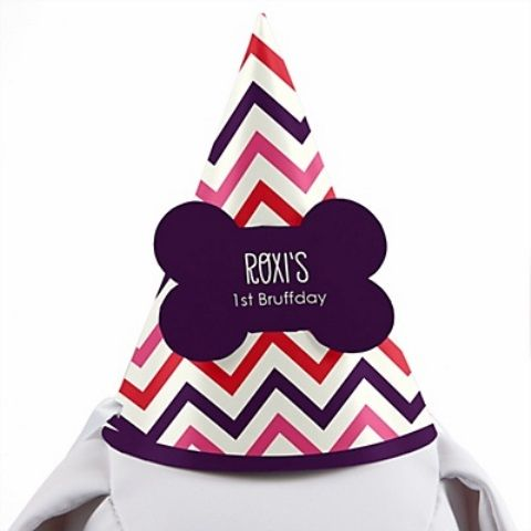 Dog Birthday Hats {The Cutest Dog birthday, Birthday party hats - Party Hat Template